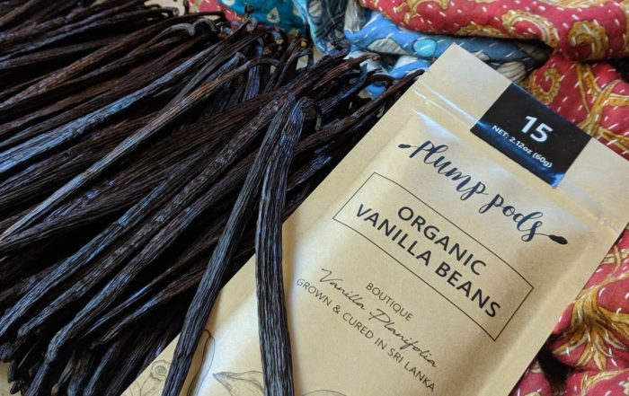 Plump Pods new season organic vanilla beans have arrived