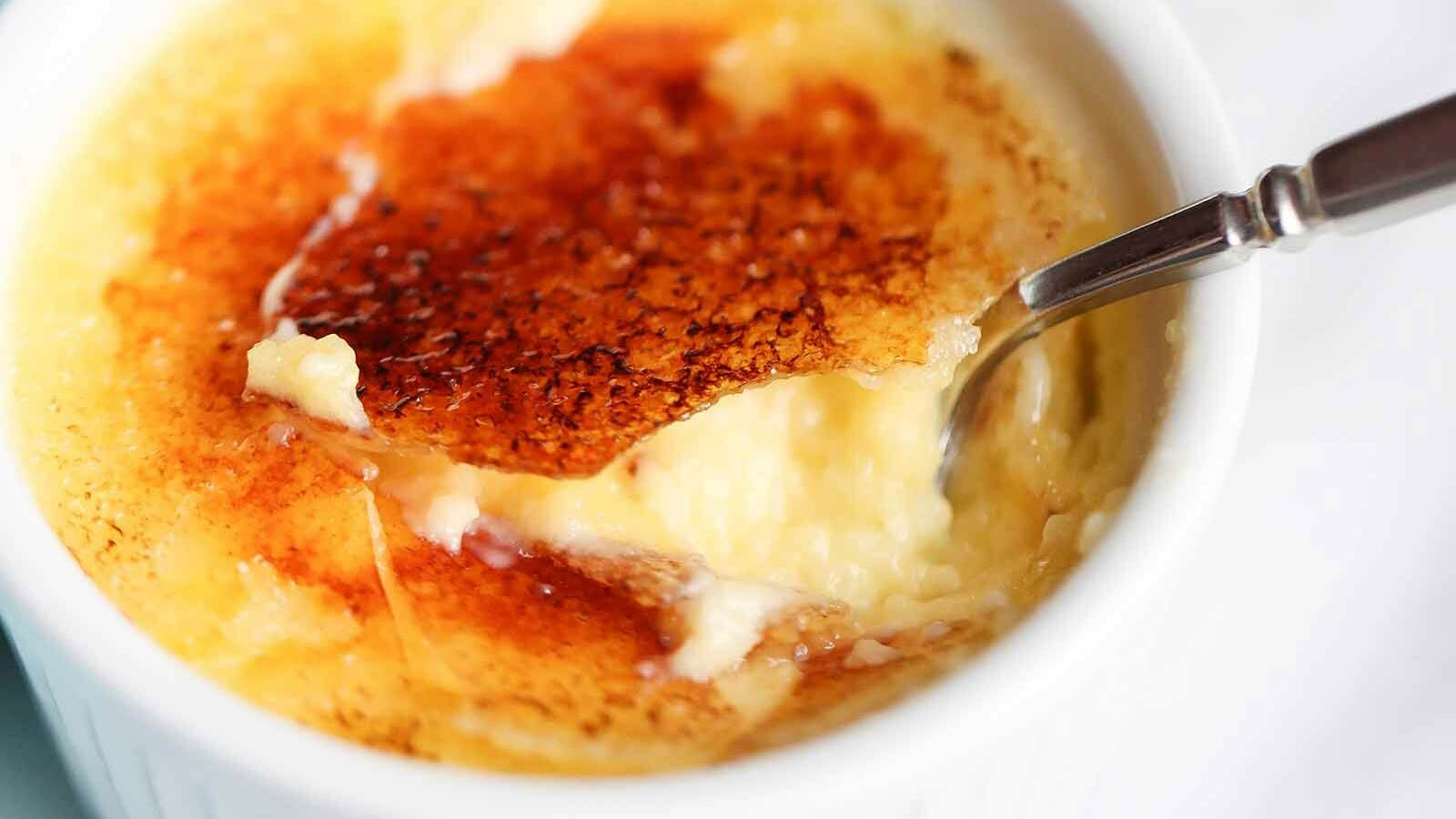 Creme Brulee A Master Of Ceremonies Plump Pods